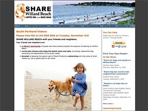 SHARE Willard Beach